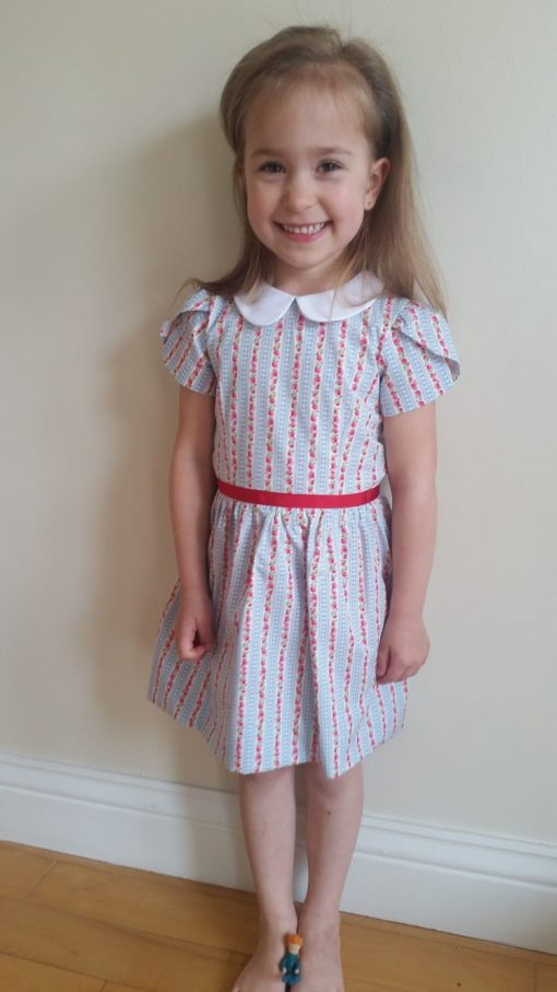irish handmade girls dress - emily