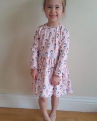 Dancer Dress-girl wearing